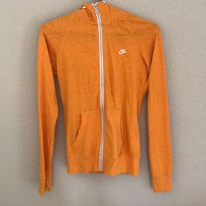 NWOT Nike Fitted Hooded Lightweight Jacket